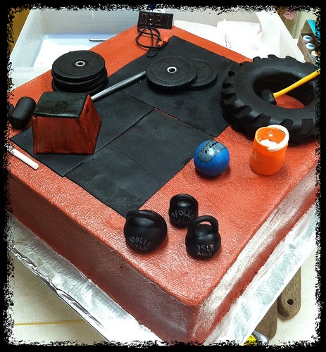 crossfit cake - Google Search