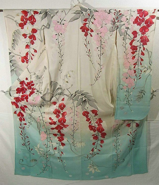 Furisode #273106 Kimono Flea Market ICHIROYA