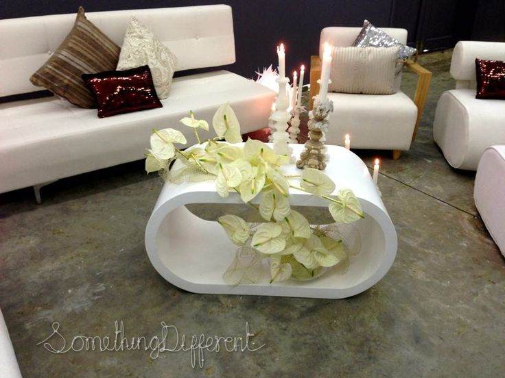Something Different | Top Billing | Shoot | white different modern lounge decor