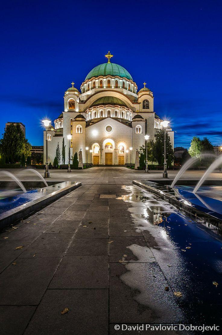 St sava belgrade serbia