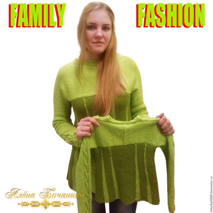 Купить или заказать вязаный комплект 'семья мода' в интернет-магазины на мой Livemaster. Вязаный комплект для мамы и дочки.Вязаный комплект можно приобрести в моем магазине.Трикотажный комплект состоит из двух вязаных свитеров.Кардиган для мамы 46-48 размер и кардиган для дочки Размер 116-122.Вязаный комплект в семье-Мода стиль и подчеркнет Вашу и hellip;