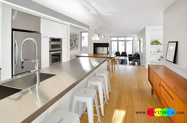 Kitchen:How To Clean Stainless Steel Kitchen Appliances Sinks Utensils Best Countertops Island Carts Table Chairs Dining Room Worktops Sleek And Stylish Stainless Steel Kitchen Countertops How to Clean Stainless Steel for a Sparkling Kitchen Appliances and Sinks then Utensils