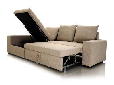 Chaise Sofa Sleeper With Storage