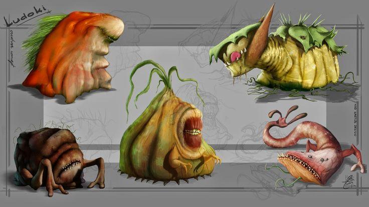 loduki - creature concept