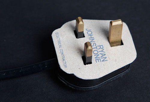 eletricista criativo cartão de visitas do design passos que podem ajudar você projete memorável Cartões de visita