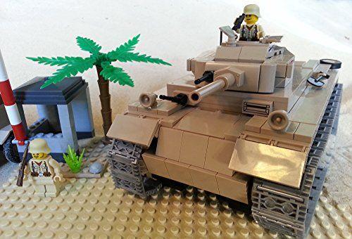 Modbrix 2451 - 400-teiliges Afrika Korps Bausteine Set, Panzer III Ausf.J Sd Kfz. 141 inkl. Lego© Wehrmacht Soldaten Brigamo http://www.amazon.de/dp/B00SK0RZ0A/ref=cm_sw_r_pi_dp_w7bjvb08BX1B6