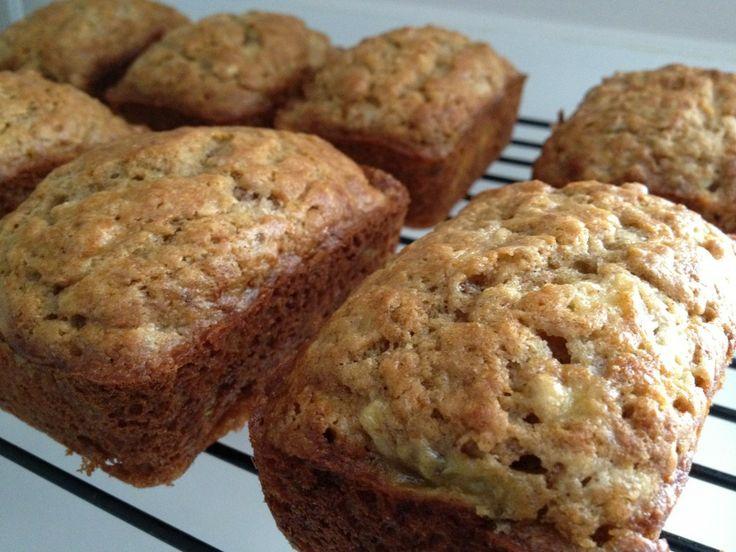 mini banana bread loaves stephanies recipes pinterest