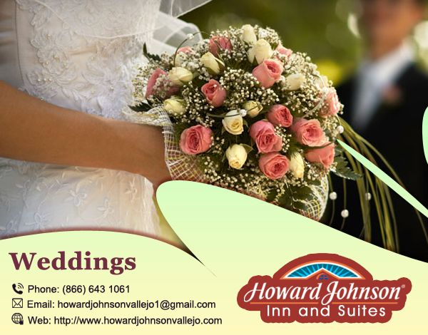 Howard Johnson Inn & Suites of Vallejo is the perfect for #Wedding. visit Us At:- http://bit.ly/2ctBog5