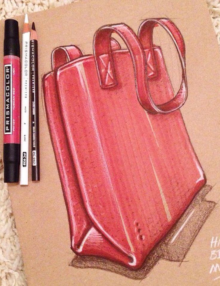 Soft goods sketch and render