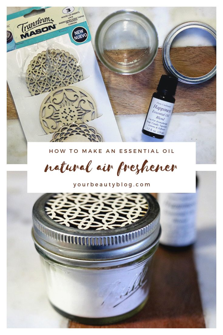 DIY Natural Air Freshener With Essential Oils Homemade
