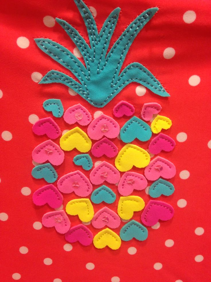 Ideas about pineapple embroidery on pinterest