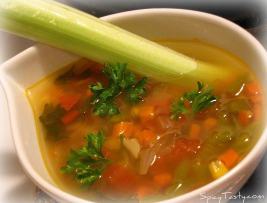 Vegetable Broth/Vegetable Clear Soup