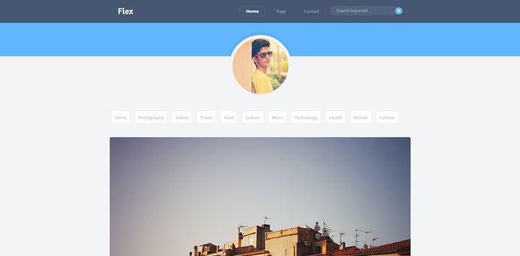 Flex Blogger Template é um template blogger para blog pessoal, fotografia e etc. Com layout responsivo, Flex tem 1 coluna, sem sidebar, menu principal flutuante, resumo de postagem leia mais, ícones de compartilhamento social, posts relacionados, locais para posicionar anúncios e muito mais.