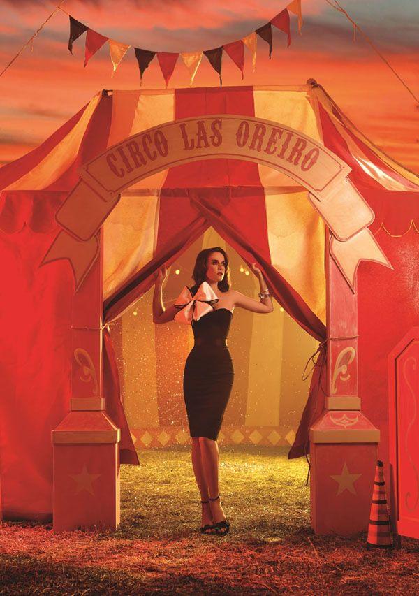 Las Oreiro 2012 Campaign Las Oreiro 2012 - Circo – Whitezine | Design Graphic & Photography Inspirations