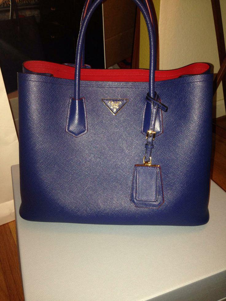Prada double bag reveal - PurseForum in my wish list .. | B | Pinterest |  Bag
