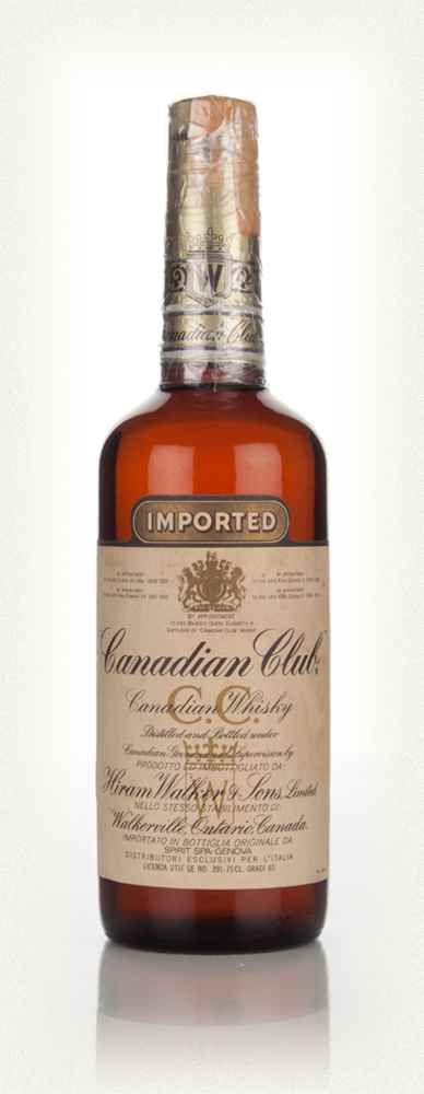 Canadian Club Whisky - 1967                                                                                                                                                                                 More