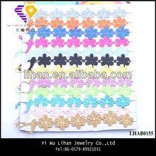 Wholesale Five Leaf Flower Lace Bracelet For Gifts Handmade Bracelet