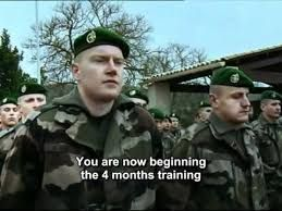 Image result for french foreign legion training program