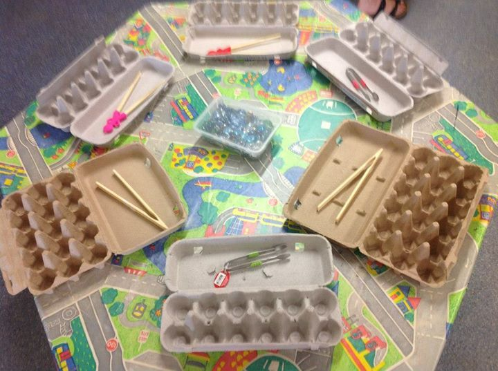 "Developing fine motor skills at Broome - image shared by Early Years Learning ("",)"