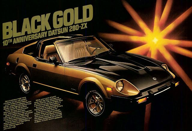 1979 Datsun 280ZX Black Gold edition