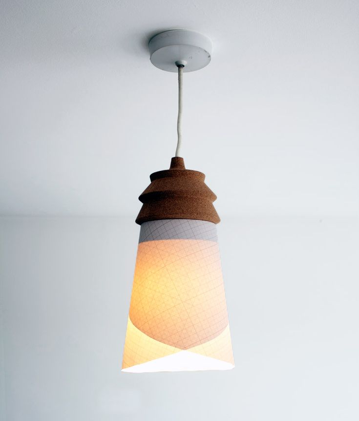 98 best bar lighting images on pinterest kitchen ideas cement and pinha lamp raw edges studio a cork pendant lamp that allows users to choose mozeypictures Choice Image