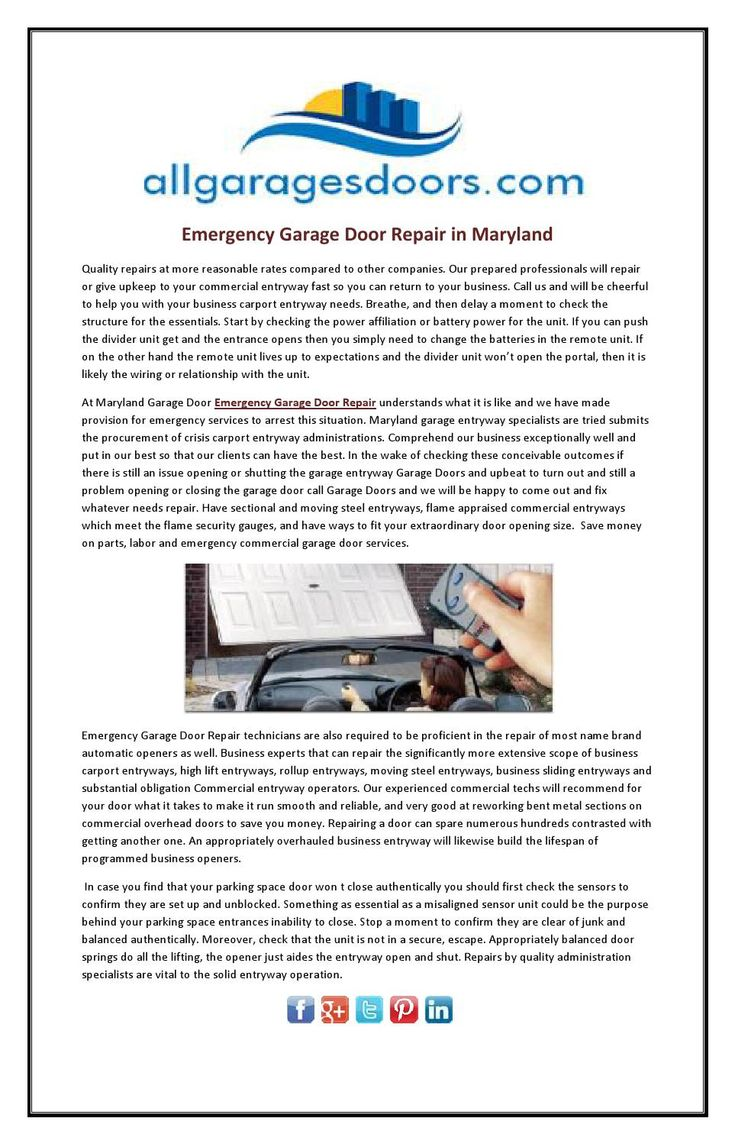 Mejores 9 imgenes de emergency garage door repair en pinterest emergency garage door repair in maryland emergency garage door repair the stratford collection is fabricated solutioingenieria Image collections
