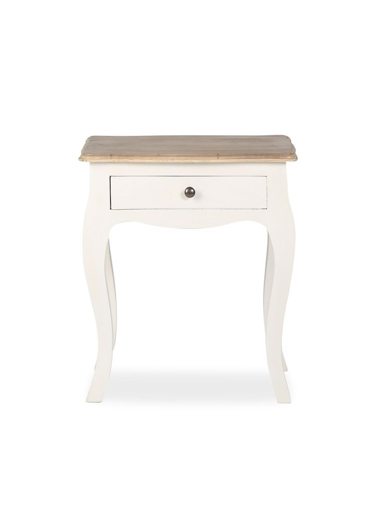 PUSHKIN SIDE TABLE - FRENCH WHITE