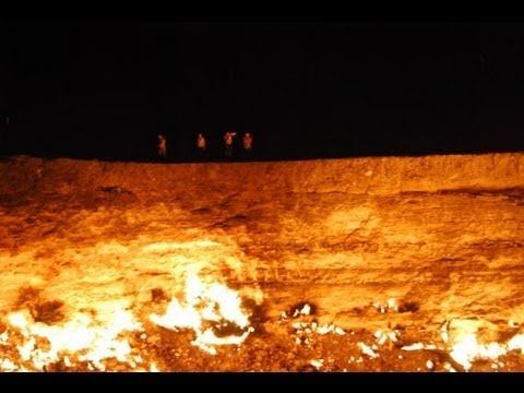 The Gates of Hell is a 328 foot wide hole found in Turkmenistan. A 1971 Soviet drilling accident caused the hole to leak dangerous gases. Scientists figured ...