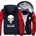 Skull Coat Zipper Hoodie - USA size only #skull #hoodie #gift #gadgets