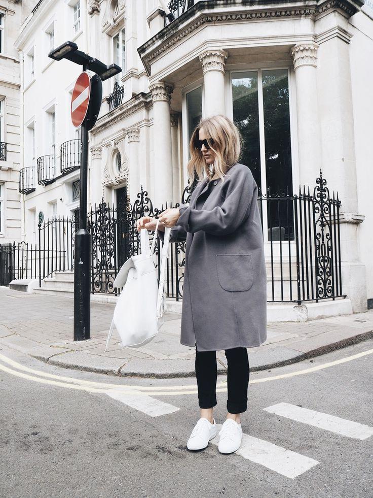 Iris von Arnim Grey Cashmere Coat