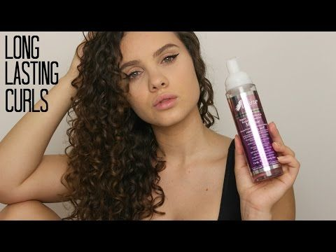 How To Get Long Lasting Curls ft. The Mane Choice - YouTube