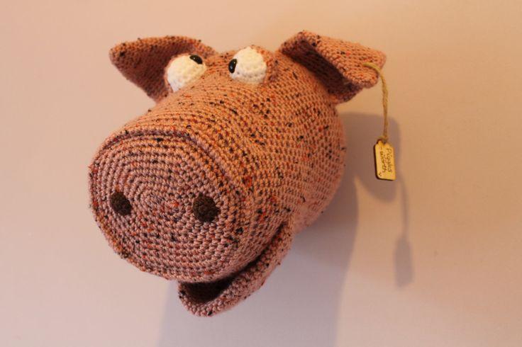 Les 25 meilleures id es concernant porc en crochet sur pinterest animaux de bonneterie Crochet home decor on pinterest