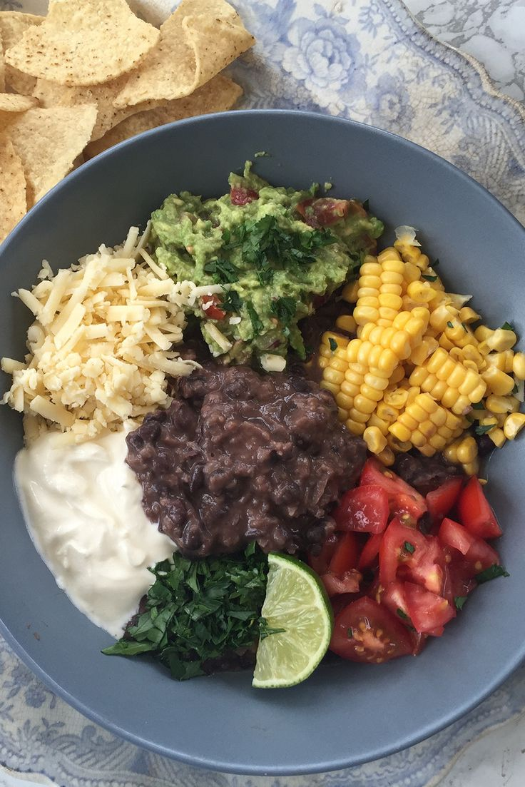 The Pool | Food and home - Black bean supper bowl