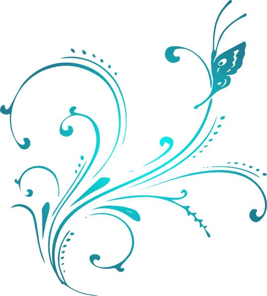 Purple Butterfly Scroll Clip Art At Clker Com: 331 Best Images About CW Background Ideas On Pinterest