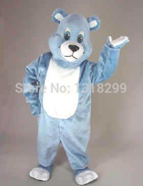 Талисмана парк голубой костюм талисмана необычные платье на заказ необычные костюмы для косплея стиль mascotte карнавальный костюм комплекты