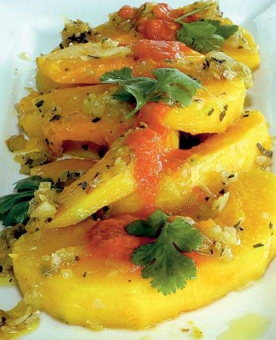 Zucca al pomodoro - Cucina Naturale