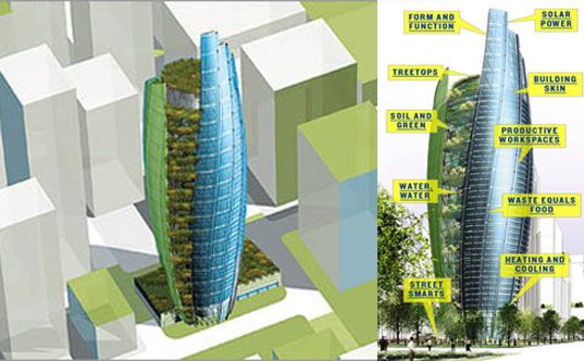 William McDonough's Treescraper Tower of Tomorrow | Inhabitat - Green Design, Innovation, Architecture, Green Building