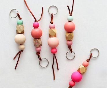Donny Osmond Home / Blog / DIY: Wood Bead Key Chains