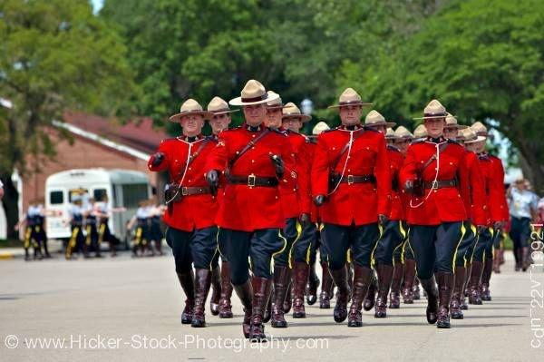 RCMP Graduation, Regina, Saskatchewan