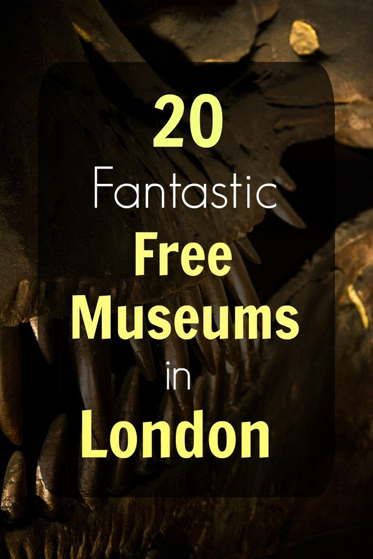 From fun places for kids to intriguing attractions for grown ups, here's the ultimate guide to free museums in London!