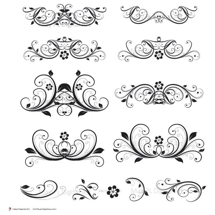 free wedding clip art accents - photo #27
