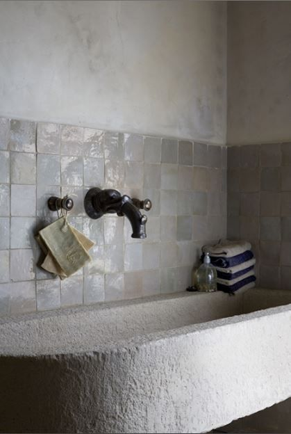 I love the depth of the glaze on these tiles. It would be a subtle way to add…
