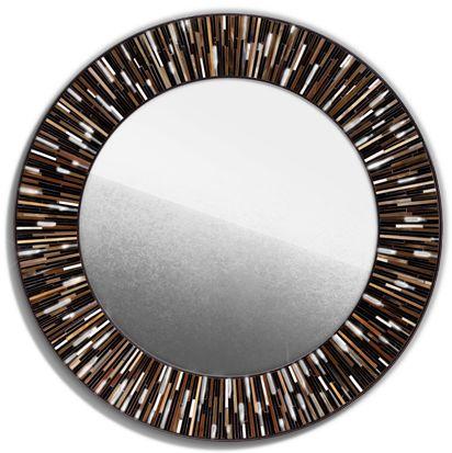 Roulette Mirror Brown Dark © Piaggi