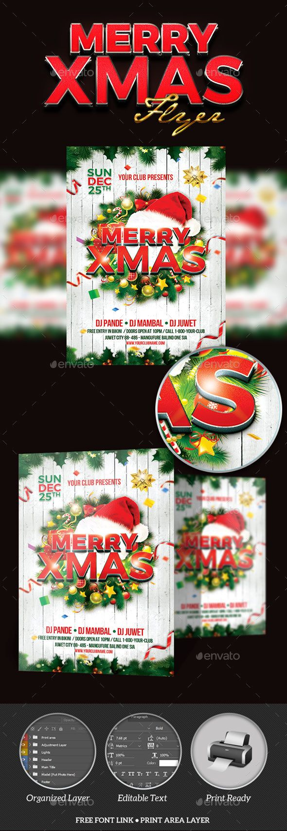 best images about christmas flyer templates merry xmas party flyer