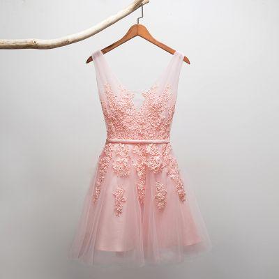 2016 New Sexy Cocktail Curto Vestidos Vestidos de Noiva Banquete Vinho Laço Vermelho Backless Regresso A Casa Vestido de Festa Vestido Formal Robe De Soiree