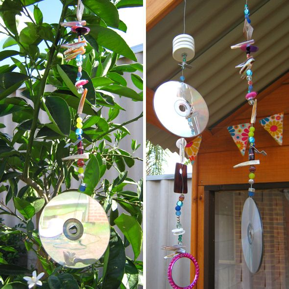Sparkling garden mobiles: fun fine motor activity