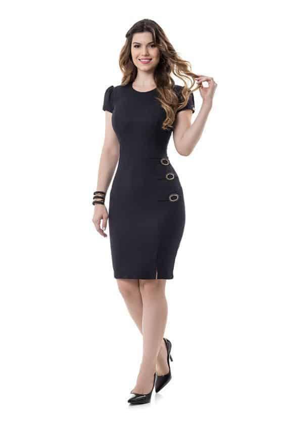 ¿Cómo combinar un vestido negro? — [ 18 Looks ]