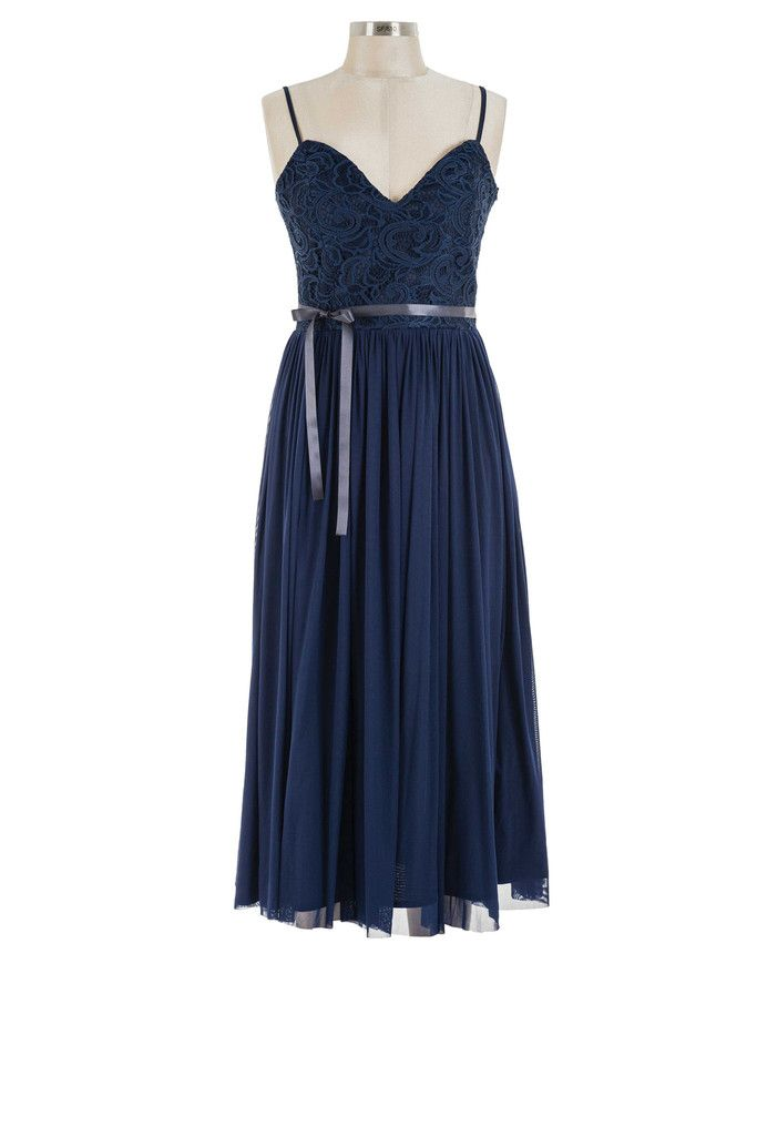 Darling Bud Dress - Navy