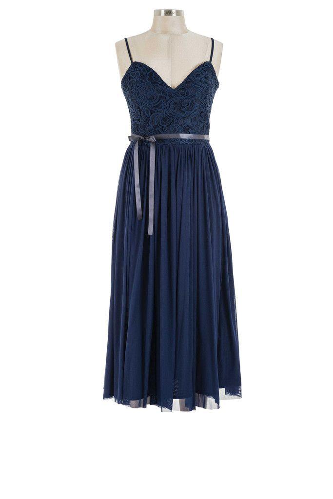 Darling Bud Dress - Navy