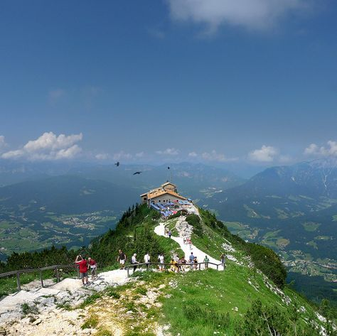 Eagle's Nest, Berchtesgadener Land, Bavaria, Germany